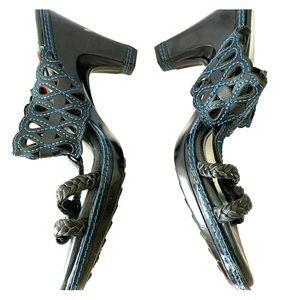 Jambu Dutch Metro Designs black Heels 6.5 🌷